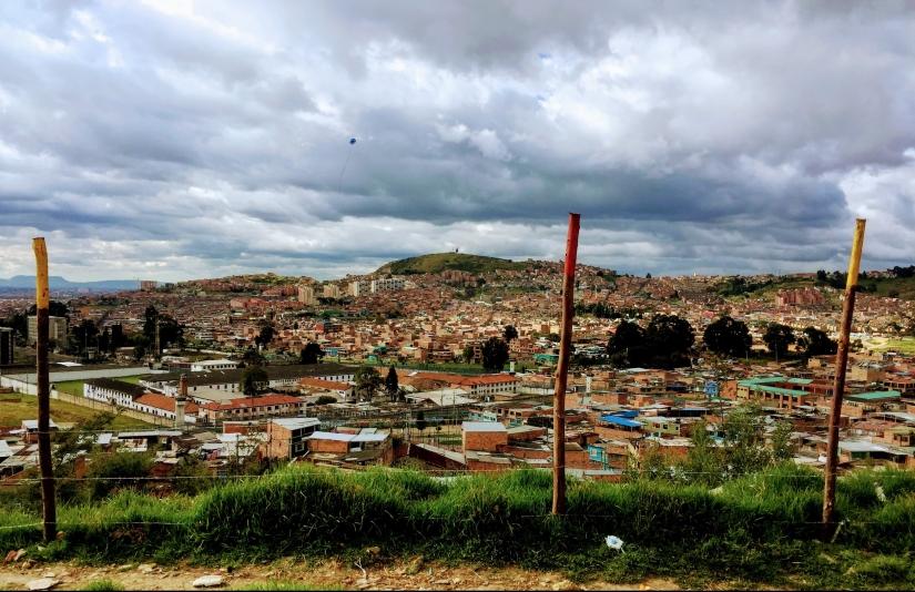 Barrio La Paz. Localidad de Rafael Uribe Uribe.